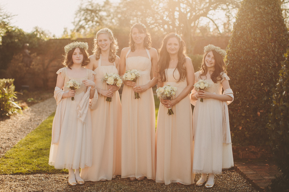 Gorgeous Boho Bridesmaids At Northbrook Park
