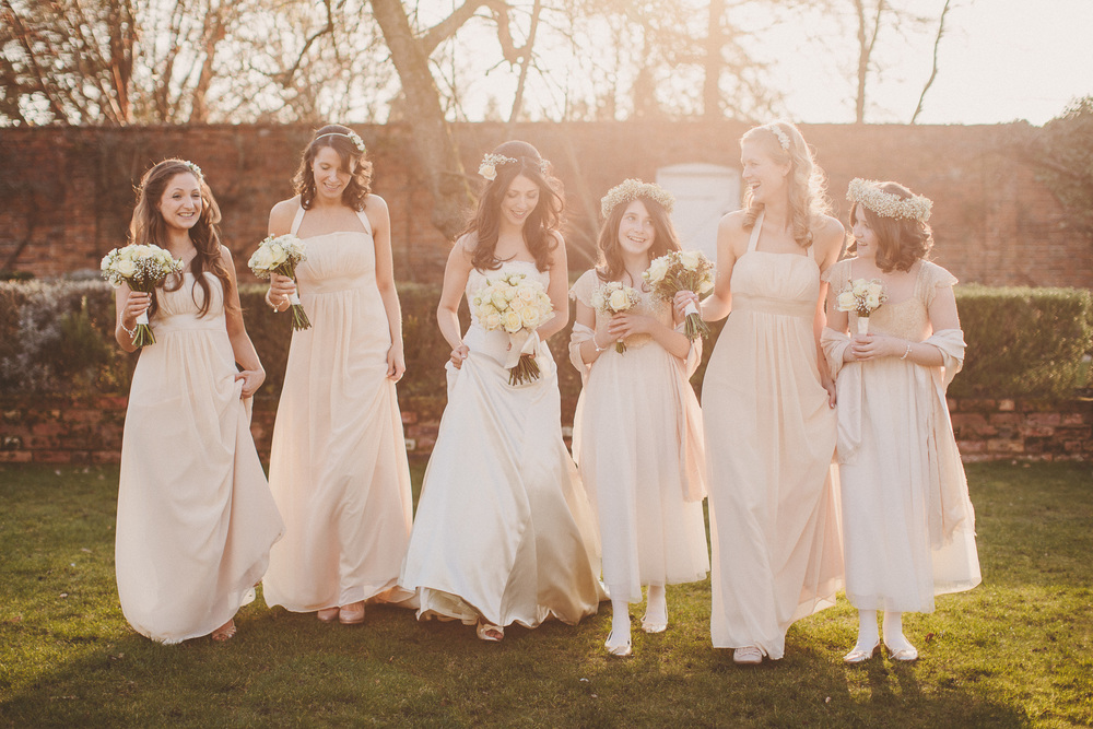 Bride & Her Gorgeous Bridesmaids
