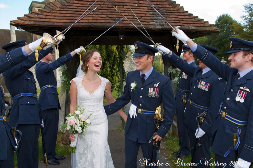Stunning Millitary Wedding In Surrey