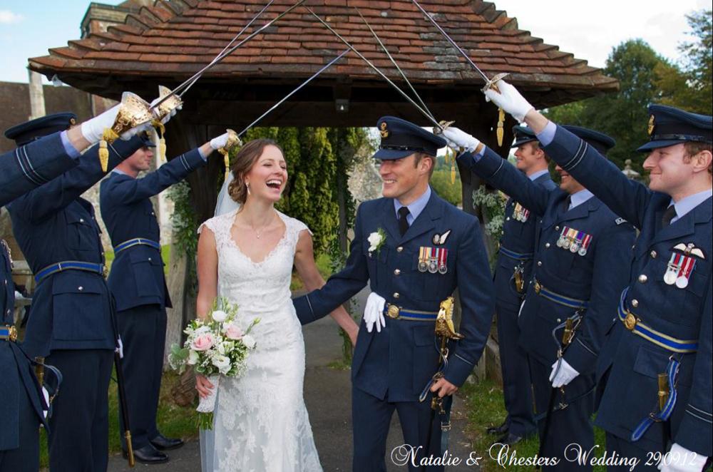 Stunning Millitary Wedding In Surrey