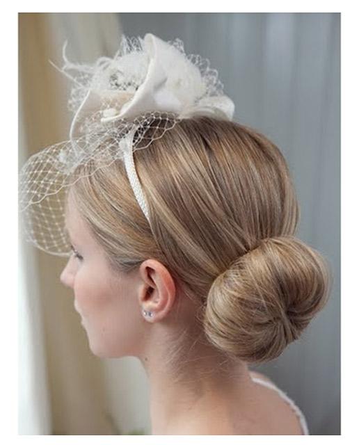 Side Bun & Over The Shoulder Wedding Hair - Lovehair