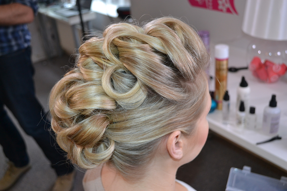 Cool But Elegant Hair Up
