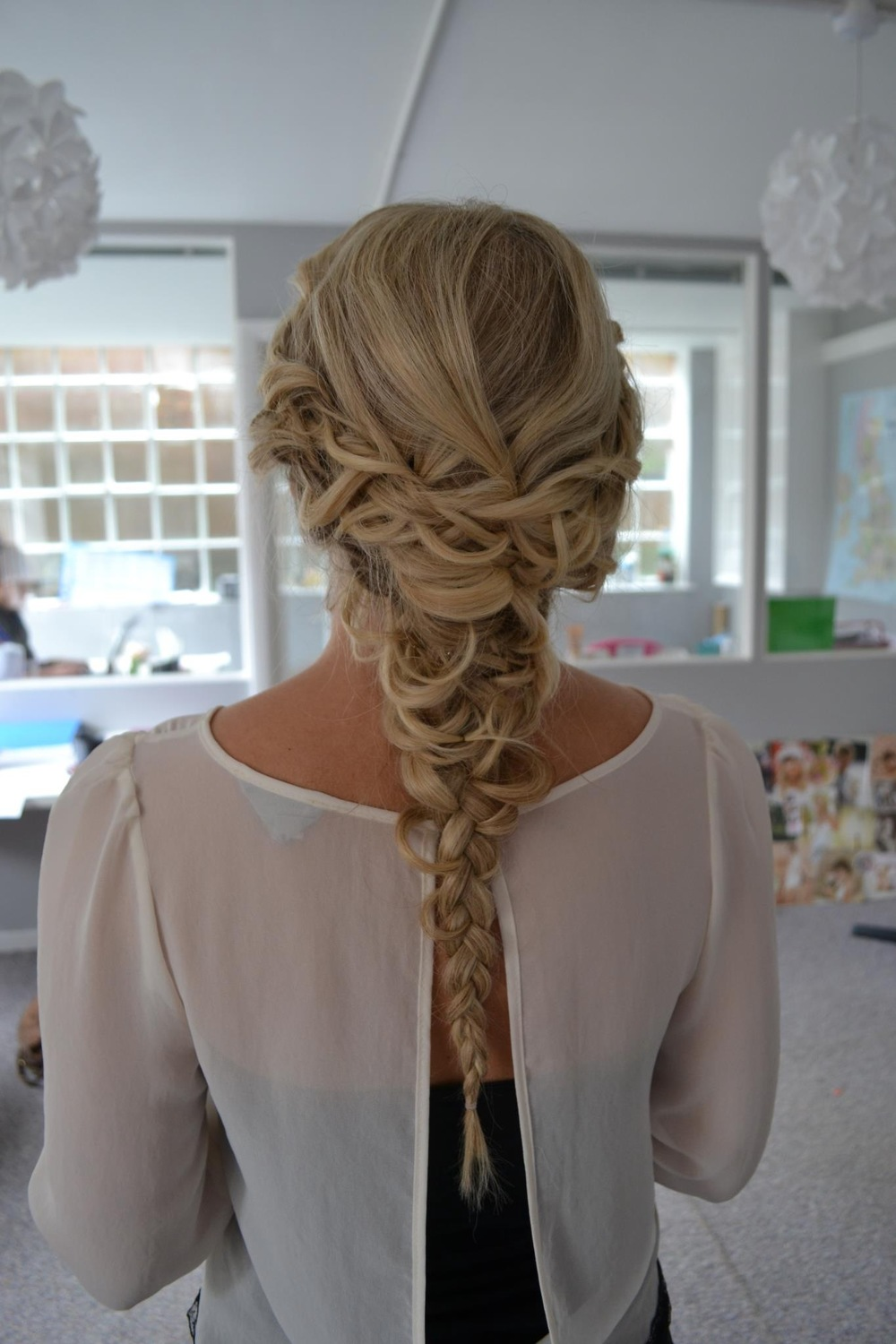 Festival chic fishtail braid