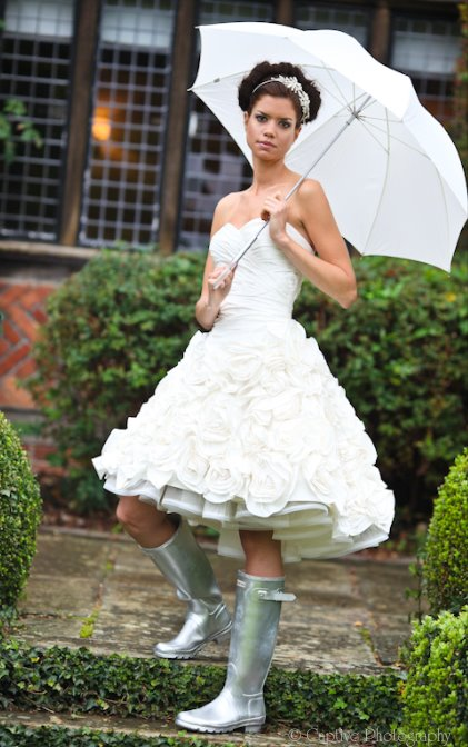 Styled Bridal shoot at Langshott Manor