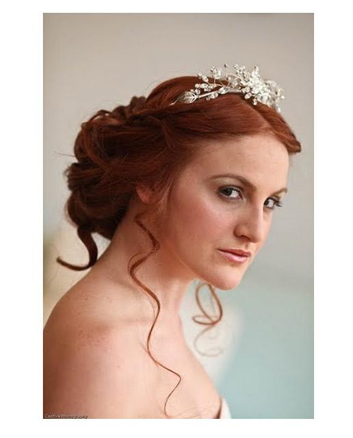 Boho style Wedding hair