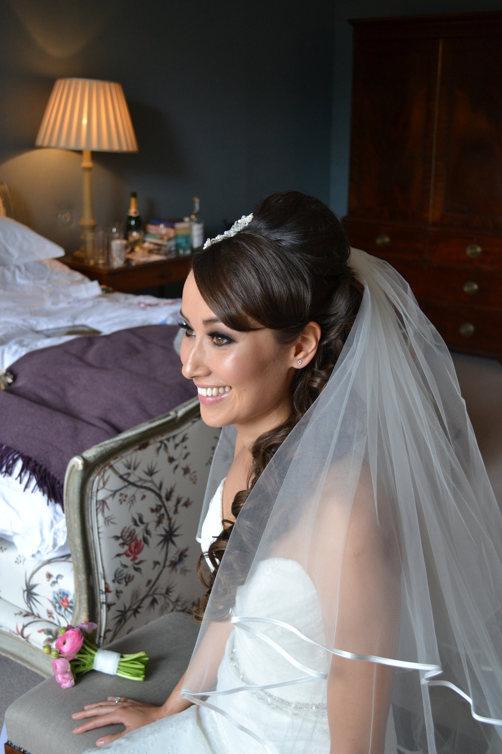 Bridal hair Cornwall by Jo Irving