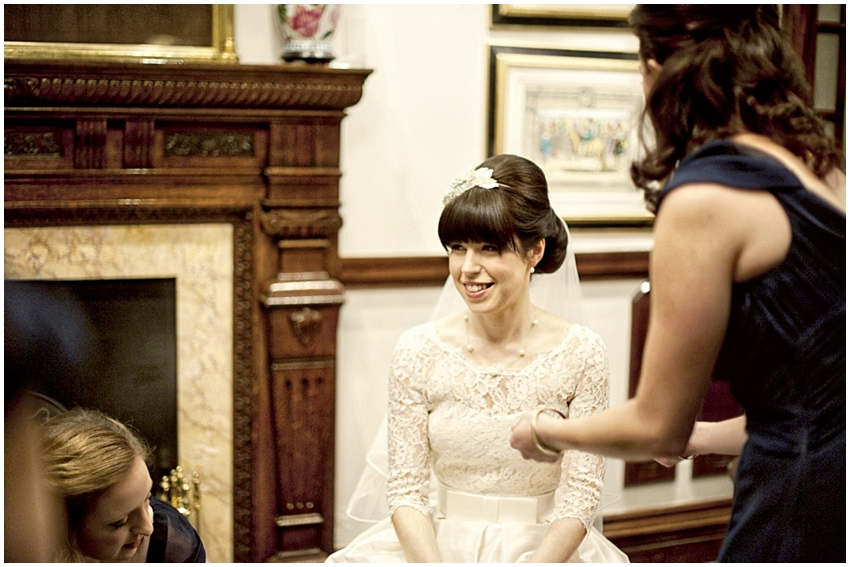 Jewish Bride Opting For Vintage Look Hair & Make Up