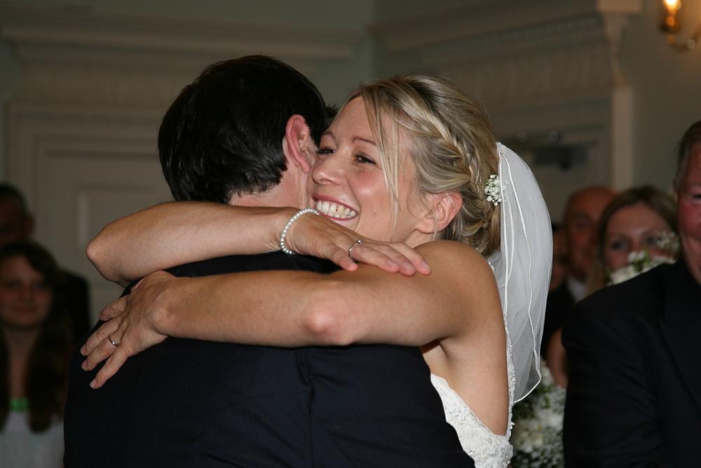 A Very Happy Beautiful Bride!