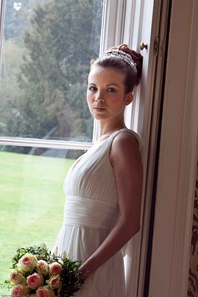 Grecian Style Hair Up At Nonsuch Mansion