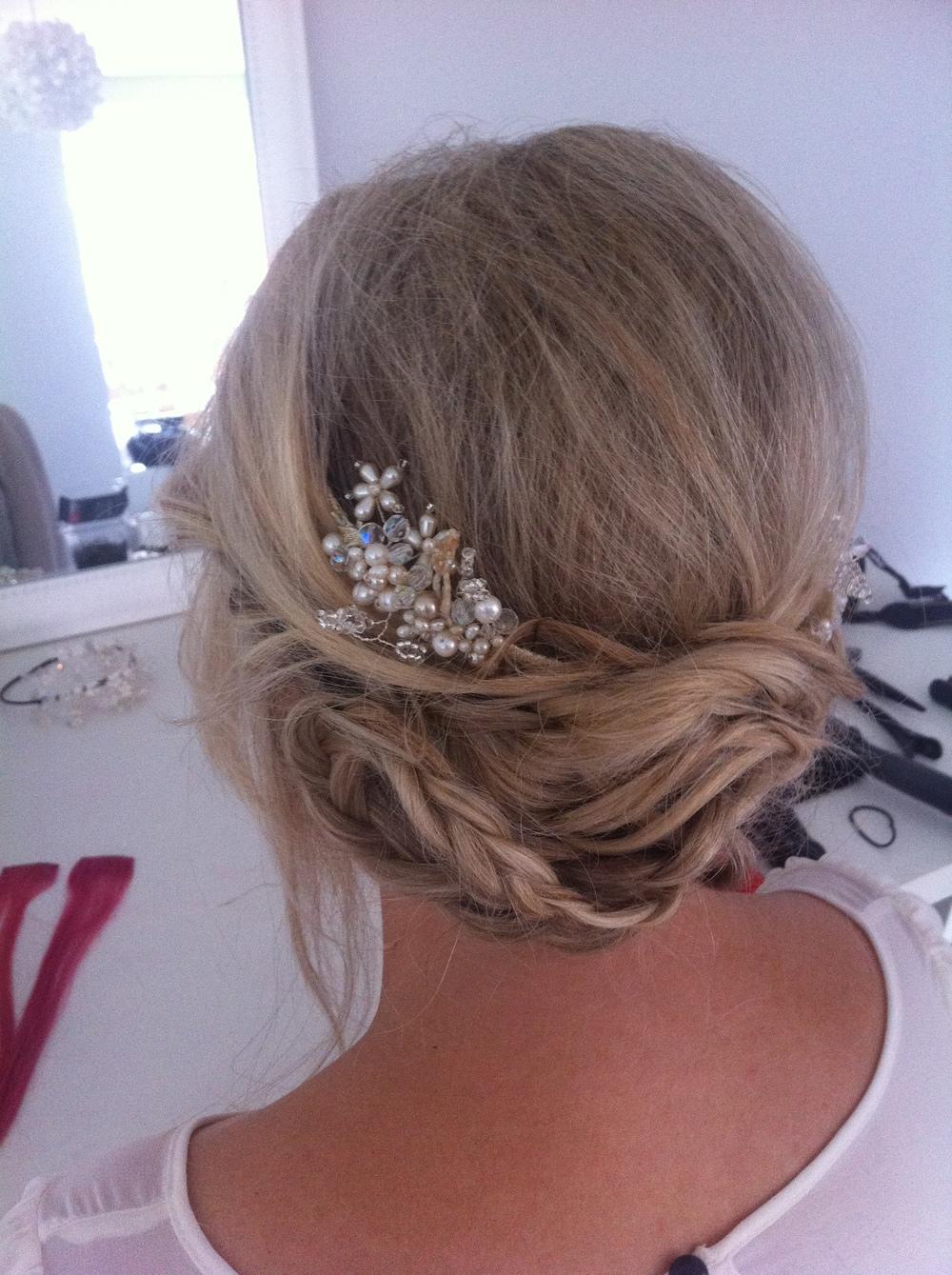 Boho/Festival chic style hair