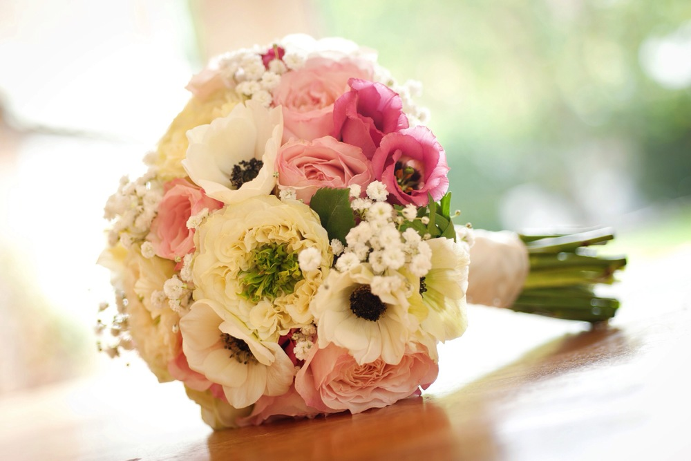 Vanessa's beautiful wedding flowers