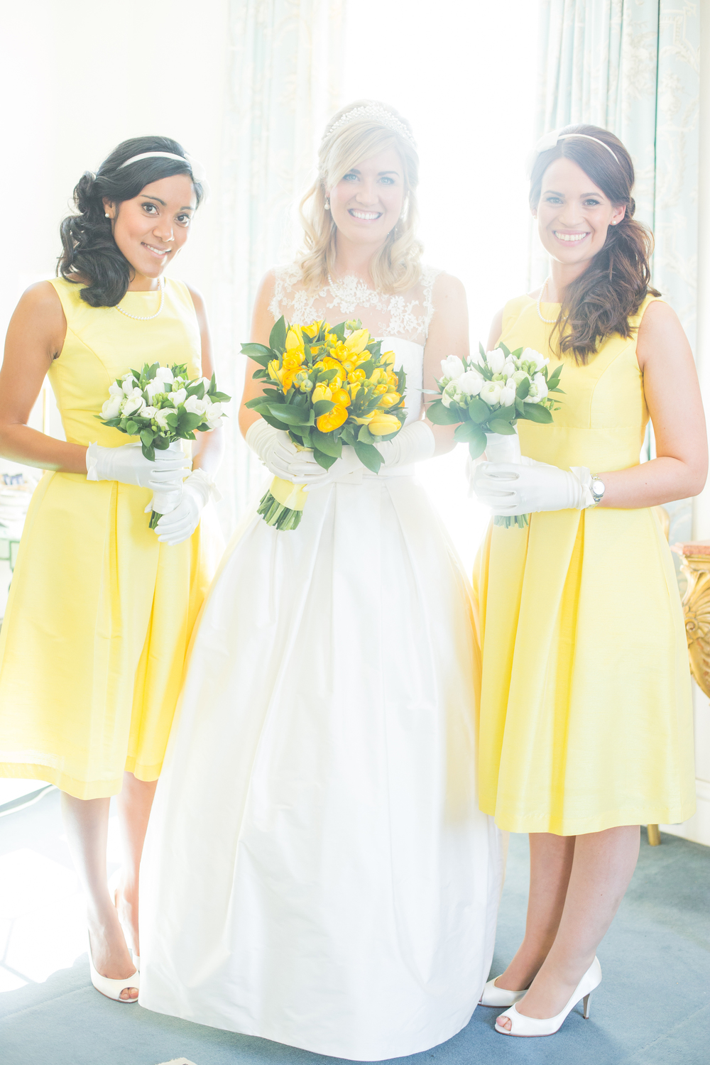 Bride & Her Gorgeous Bridesmaids By Katie