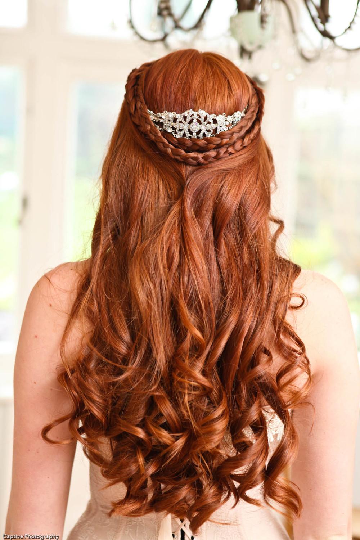 Фото причесок на длинные волосы рыжих