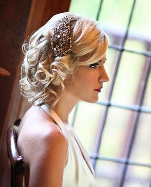 Hand beaded vintage antique Jenny Packham headpeice