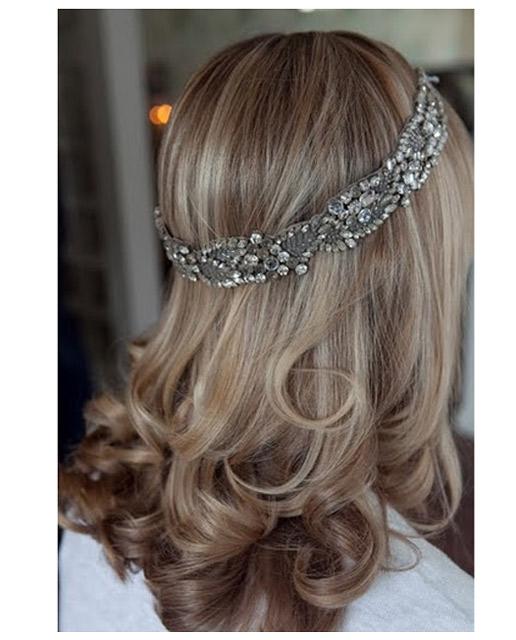 Grecian style halo headband