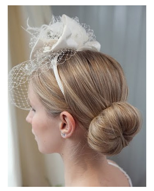 Simple low ballerina bun