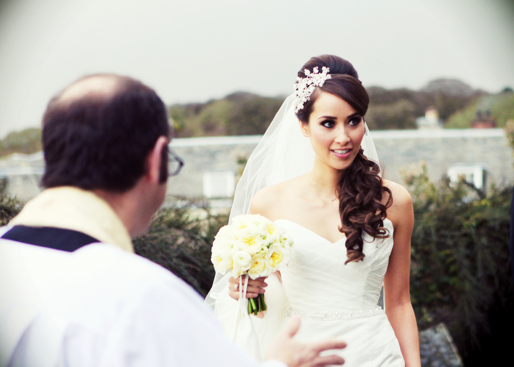 Wedding hair in Cornwall by Jo Irving