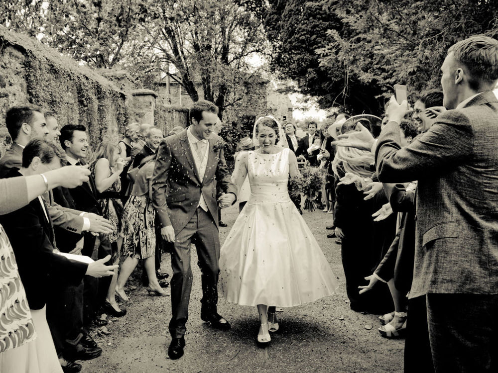 Stunning Retro Styled Wedding Hair in Cornwall