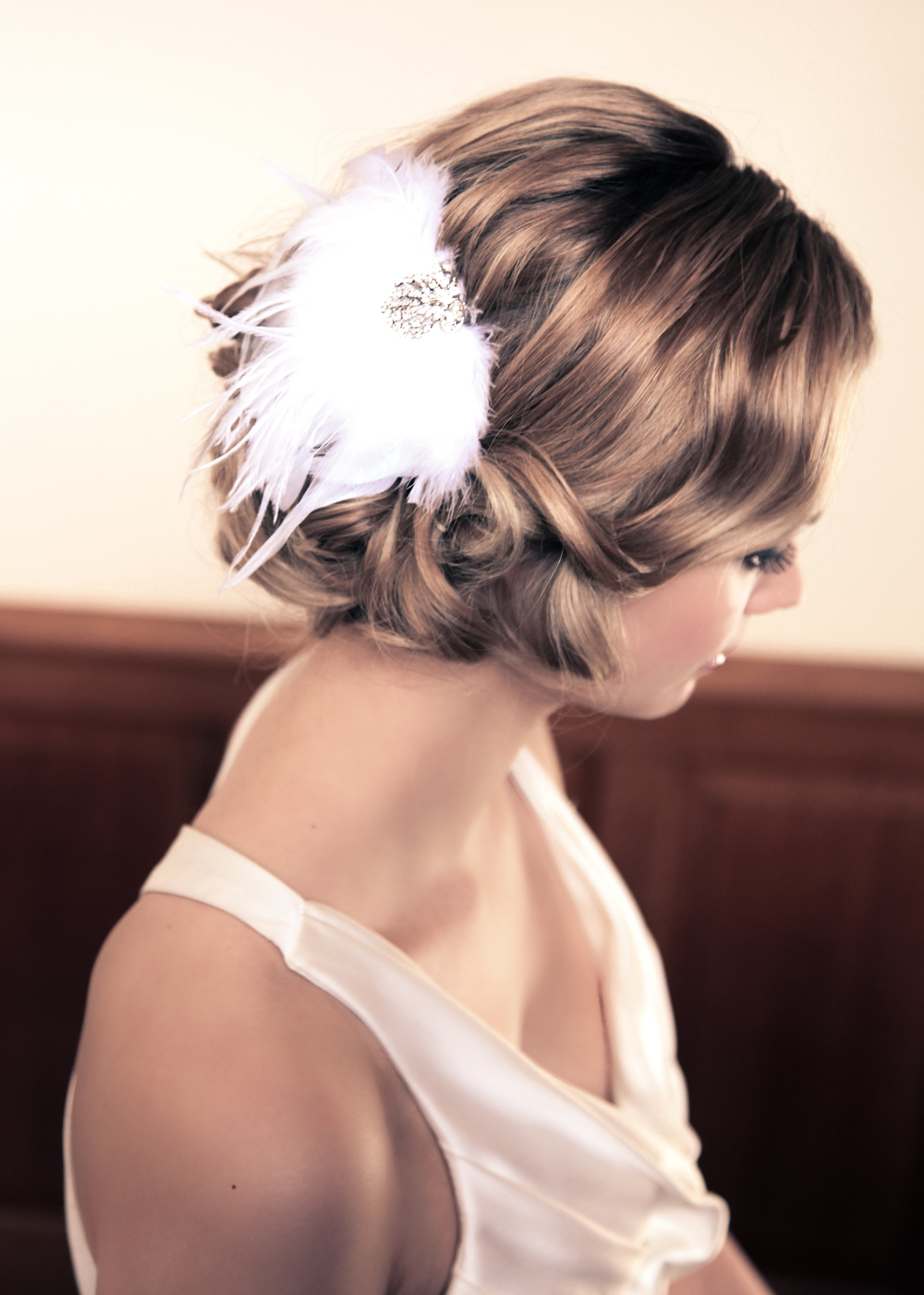 Soft Vintage Inspired Hair