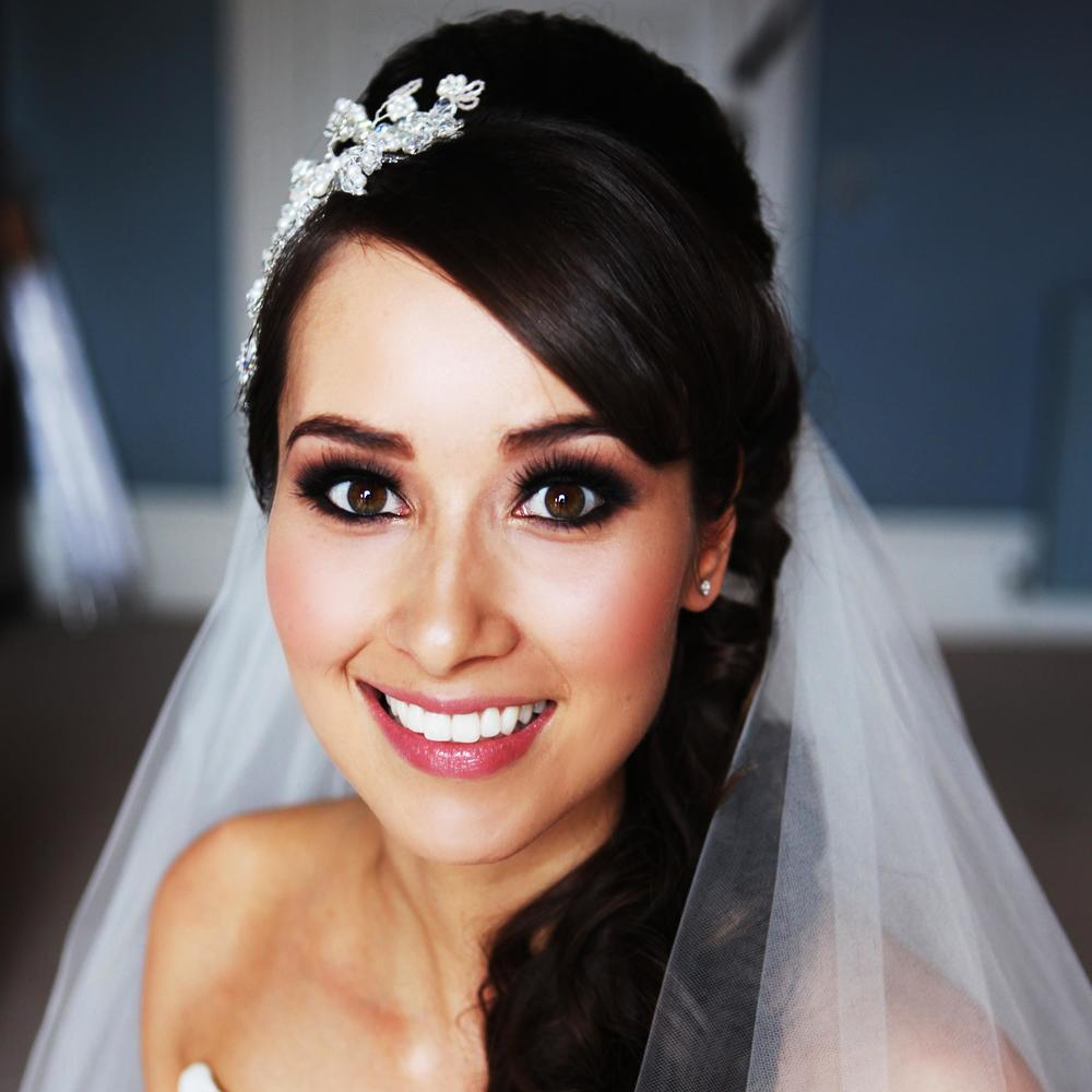 A selection of bridal make up