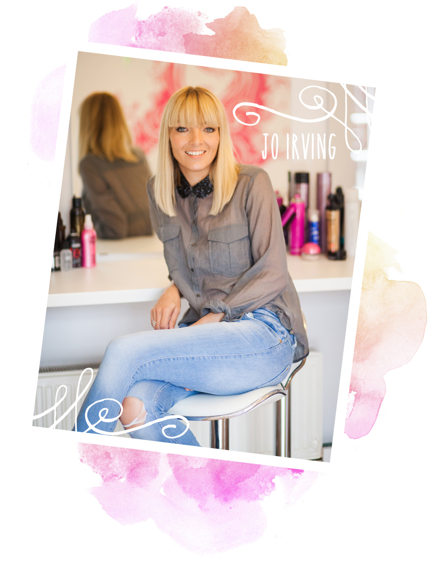 Jo Irving - Founder of Lovehair & Co