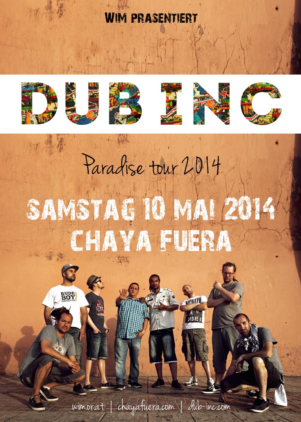 DUB INC | Chaya Fuera | 10.05.2014