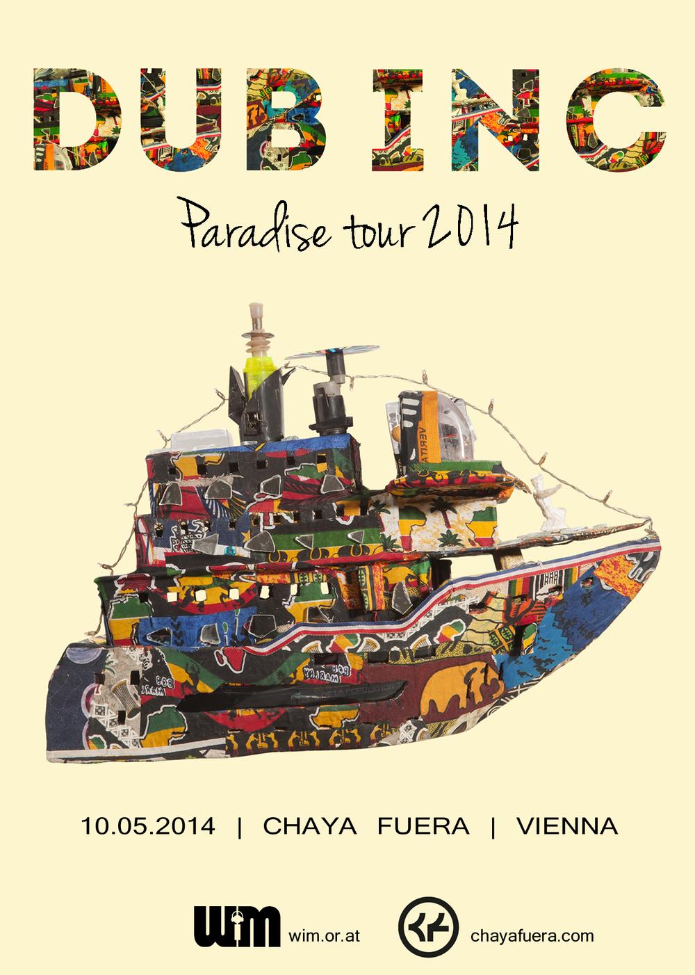 DUB INC | Chaya Fuera | Vienna | 10.05.2014