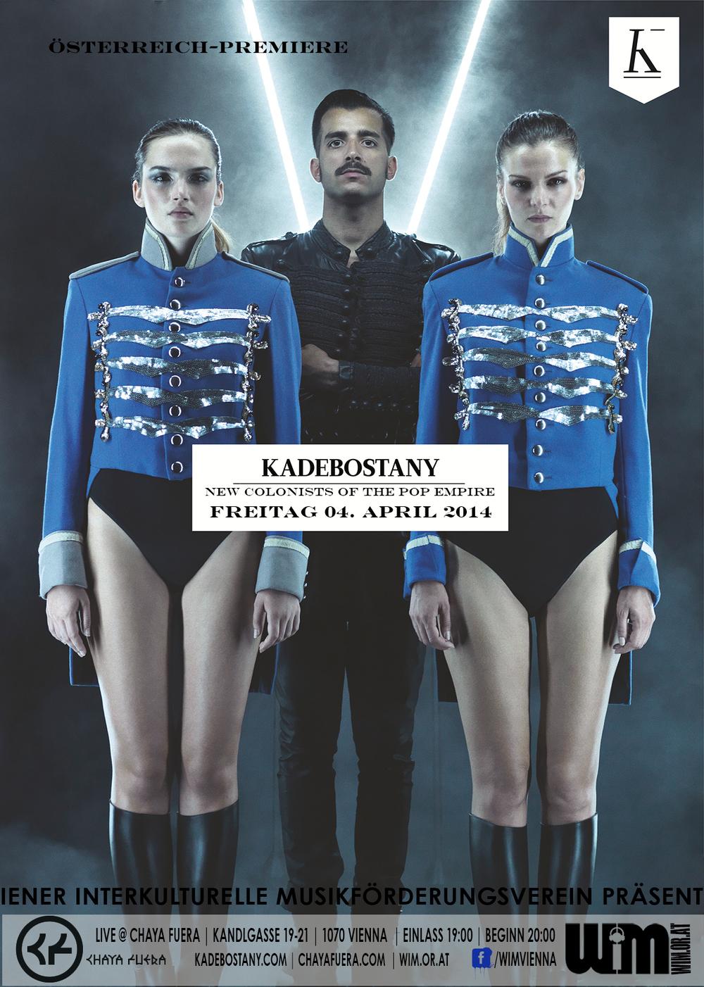 KADEBOSTANY | CHAYA FUERA | VIENNA | 04.04.2014
