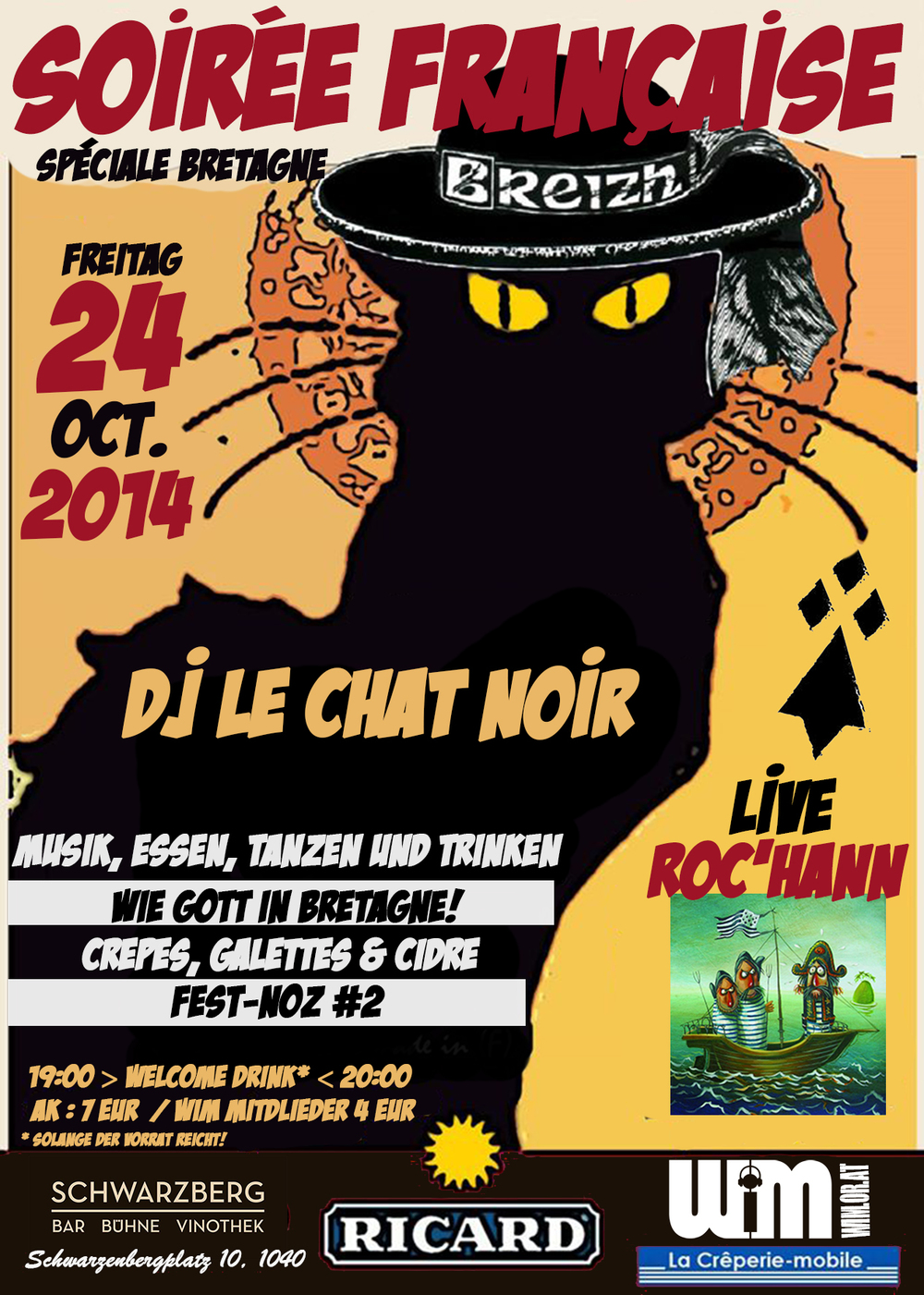 Clic on the black cat to join us !