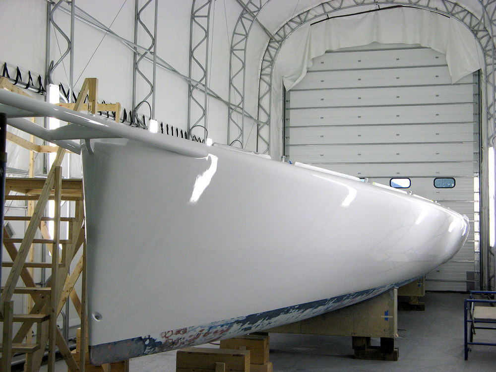 Open 60 Racing Sailboat