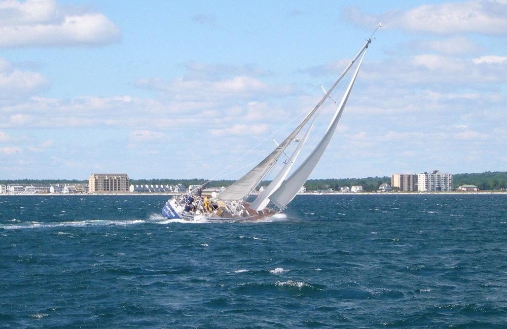 ALPHERATZ completed a successful circumnavigation.