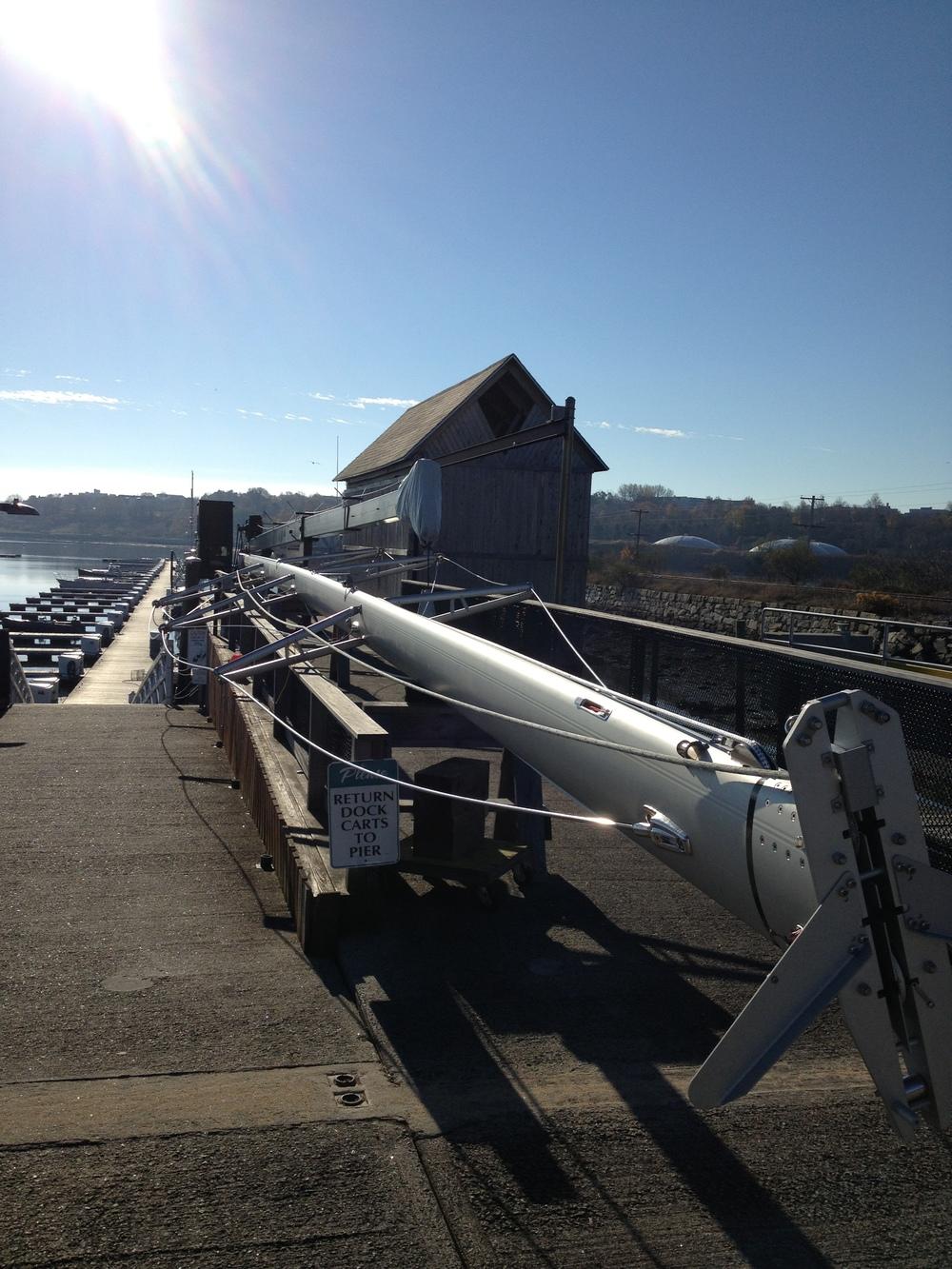 Swan 59 new Seldon mast setup