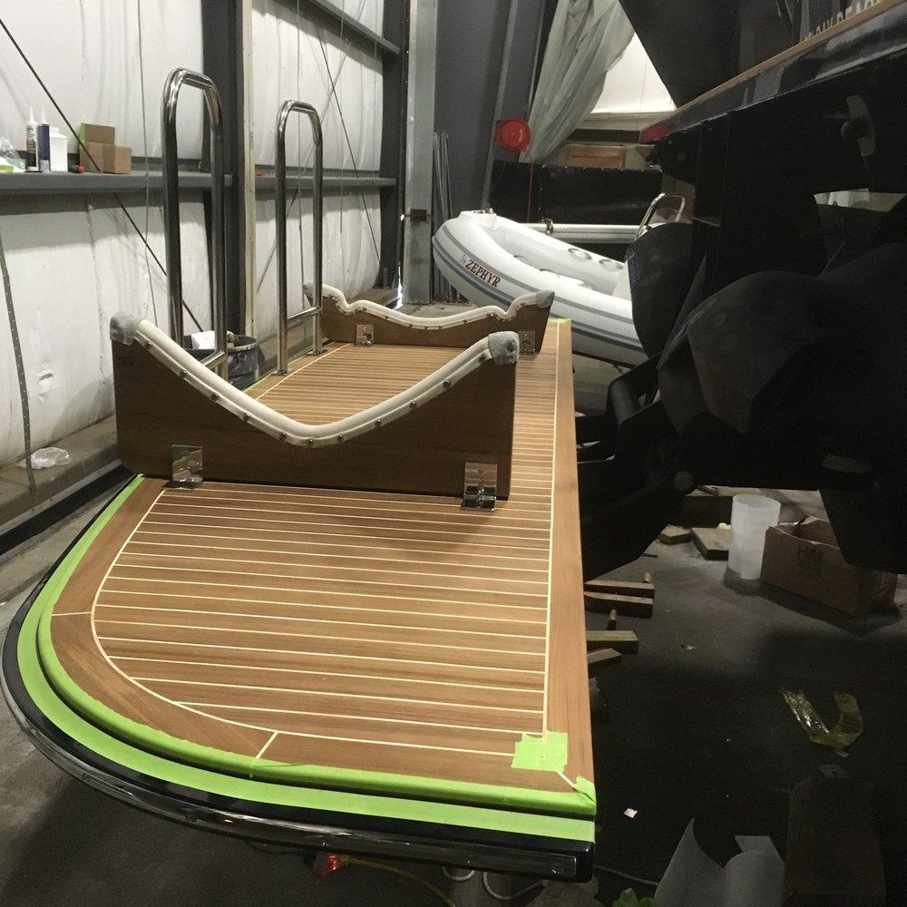 Custom Hydraulic Carbon Fiber Platform
