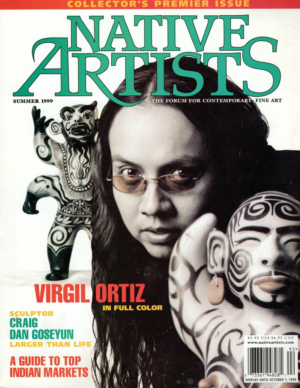 Native Artist Cover Summer 1999..jpg