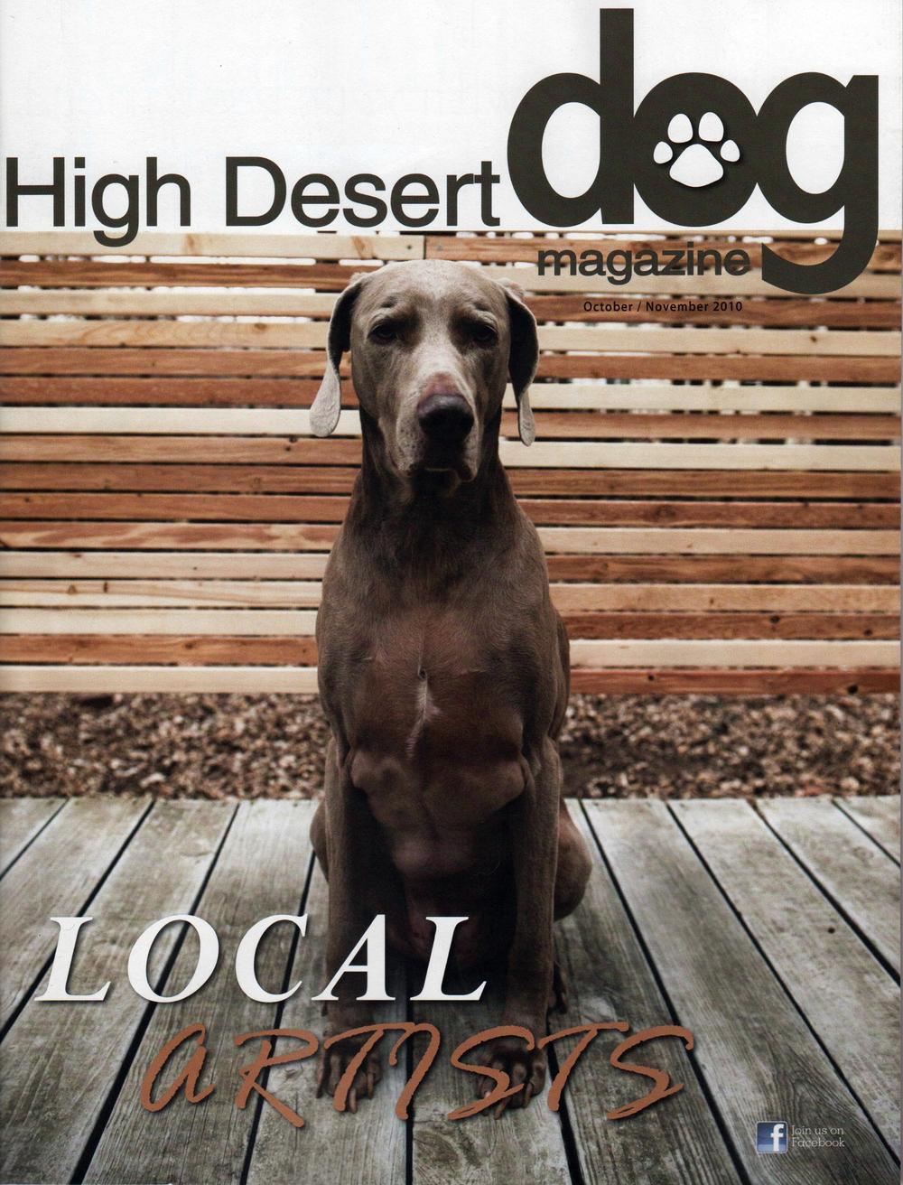 High Desert Dog - Cover Oct.Nov 2010.jpg