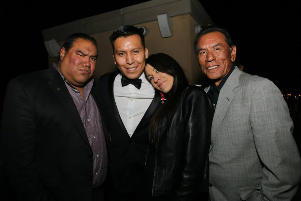 Chris Eyre, Amber-Dawn Bear Robe, Allistair McCray & Wes Studi