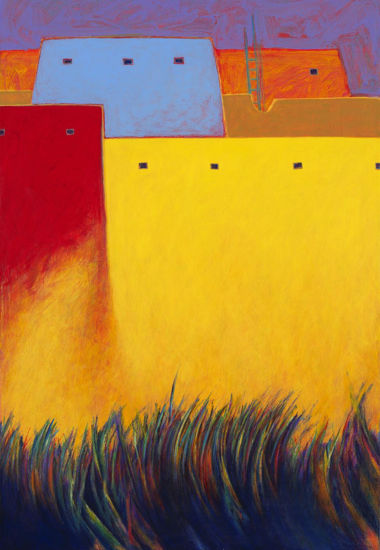 Grass Dance • Giclee on Canvas • 32 x 22