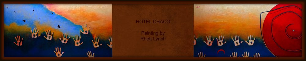 "Commission for Hotel Chaco 36"" x 144"""