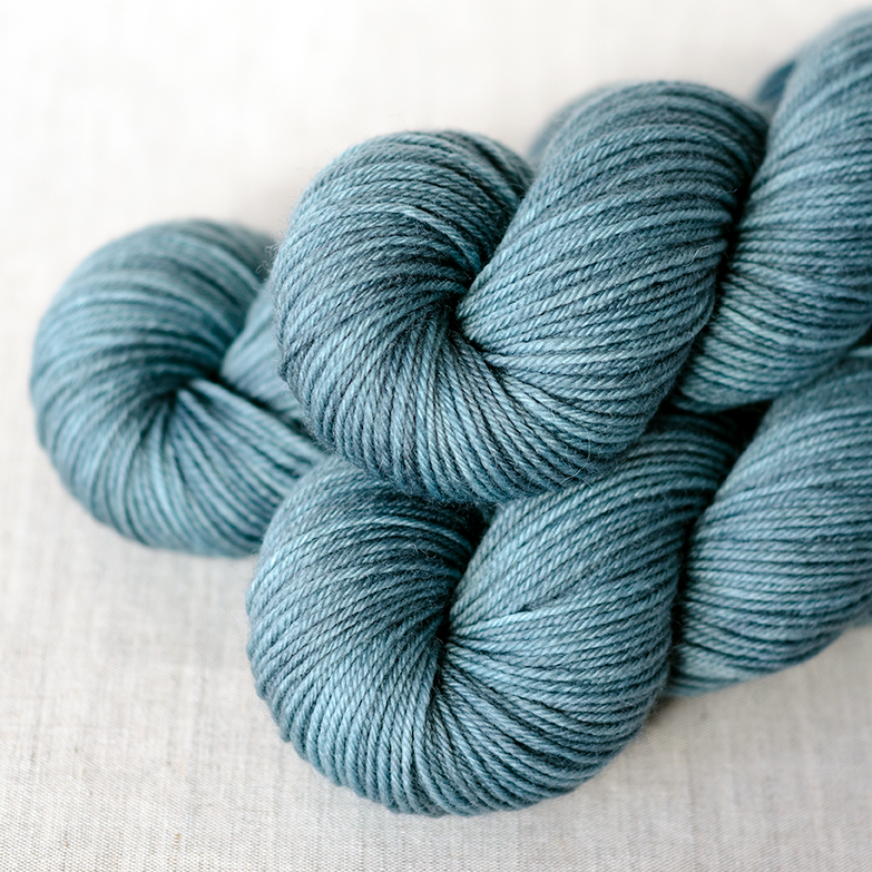 """Polwarth - $19 100% New Zealand Polwarth Wool - Superwash Light DK Weight, 4 plies 245 yards / 224 meters 100 gram skein Suggested needles: US4-7 / 3.5-4.5mm Hand Wash, dry flat Polwarth is similar to merino, but it has a more """"wooly"""" and crisp feel and more luster."""