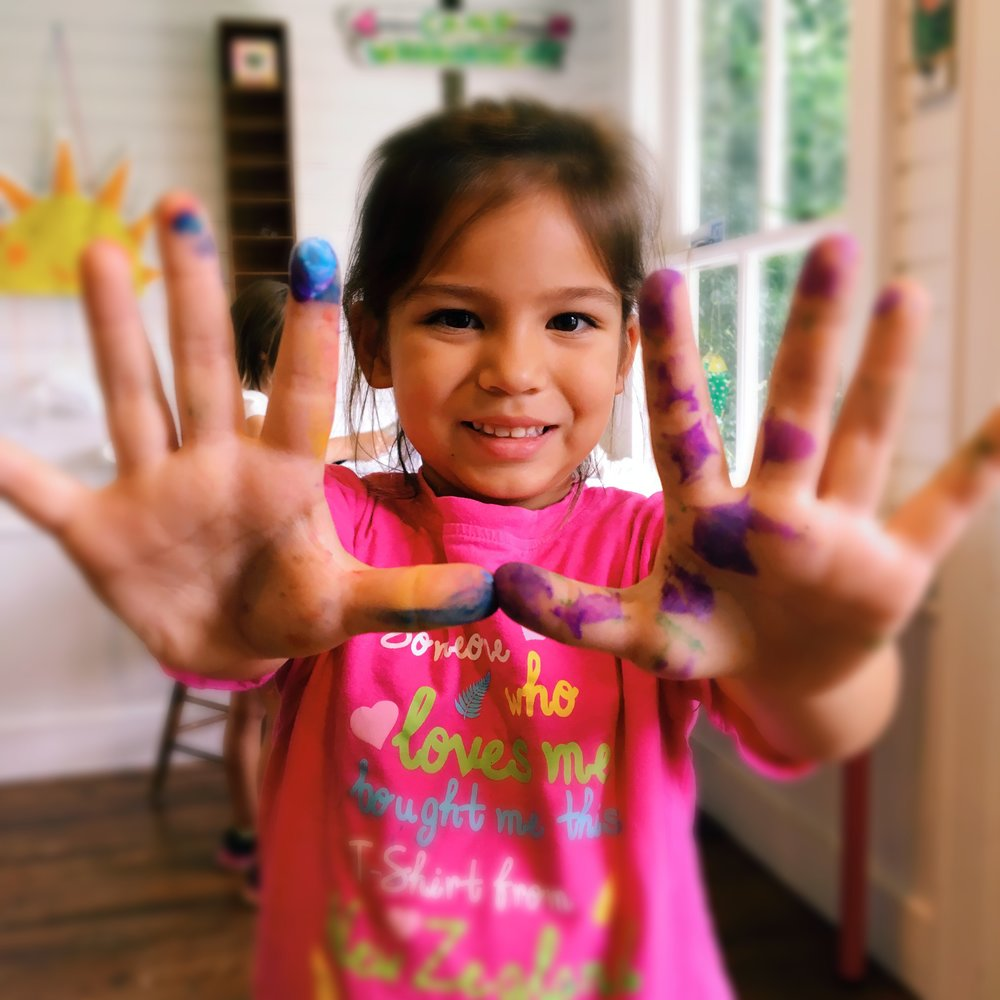 Blooming Art :Ages 5-8 yrs