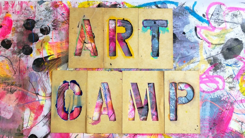 Camp Craft Shack 2018 - Design & Build, Mixed Media, Stitch &Weave and Graffiti &Grunge!Register Today!