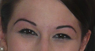 Stacey with Christian Eyebrows