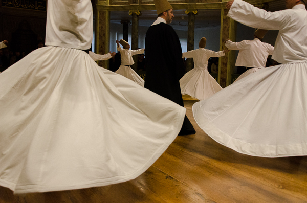 Whirling Dervishes at Galata Mevlevihanes