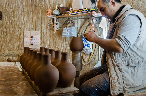 More pottery-making.