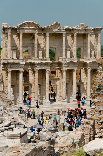 The Library is the highlight of Ephesus.
