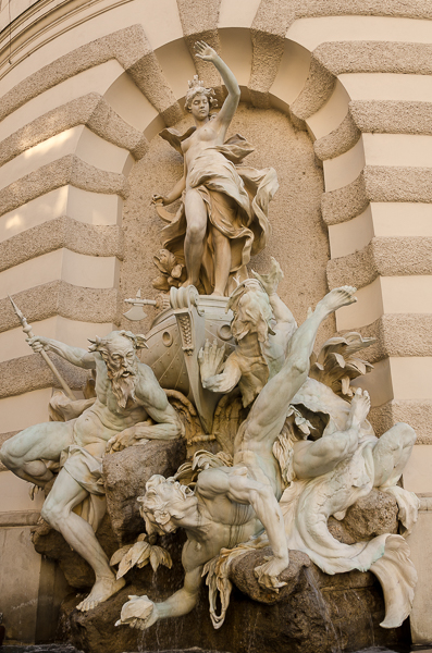 Neptune at Hofburg Palace