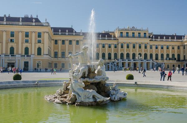 Schönbrunn Palace, front exterior