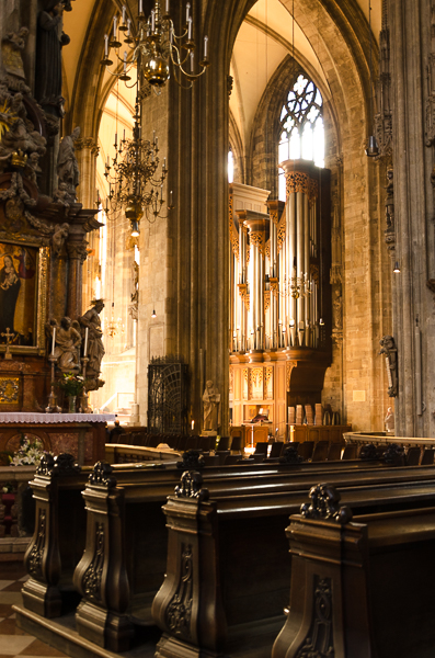 Stephansdom, interior