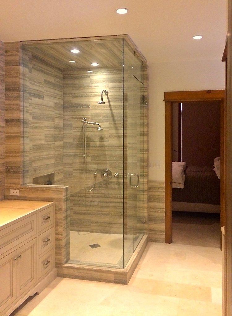 Showers — Highlands Glass