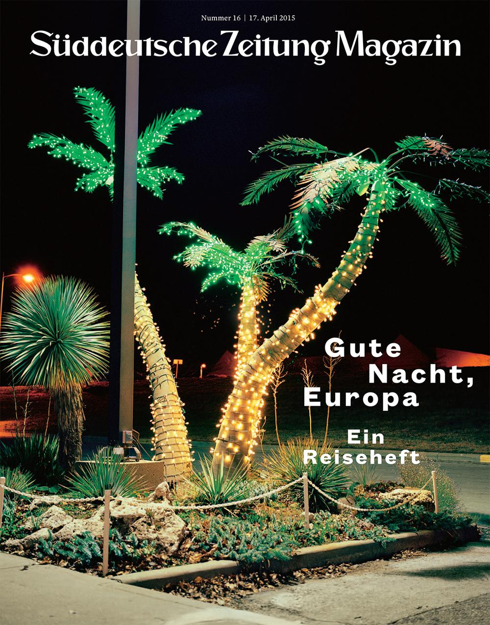 Süddeutsche Zeitung Magazin cover